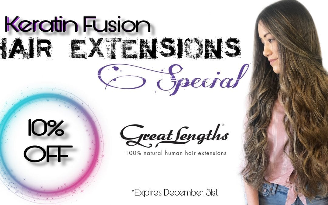 GREAT LENGTHS Hair Extension Special