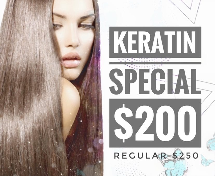 March Keratin Special